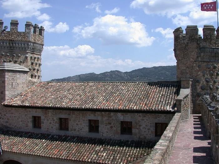 Замок в Мансанарес Эль Реал 70807