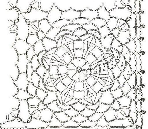 单元花型图解(33) - 柳芯飘雪 - 柳芯飘雪的博客
