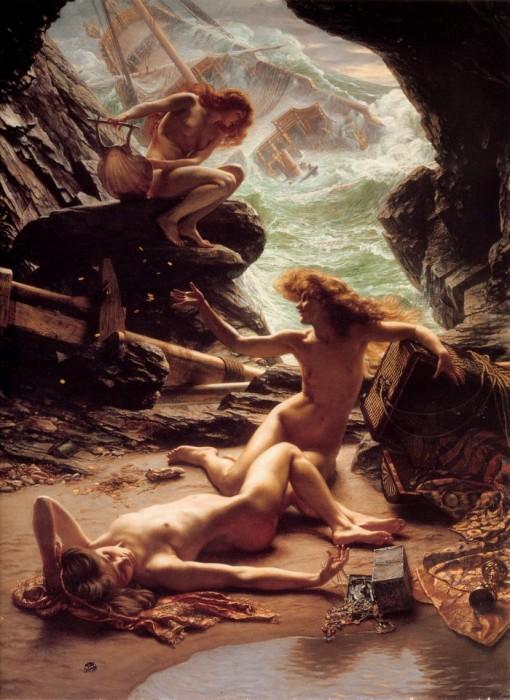 Edward John Poynter — Cave of the Storm Nymphs