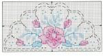схема вышивки веера