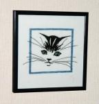 схема кошка вышивание бисером