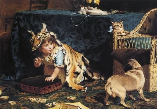 Charles Burton Barber - A Monster 1866