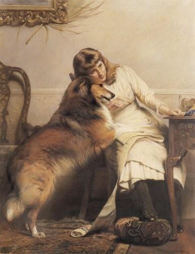 Charles Burton Barber - Sweethearts 1890