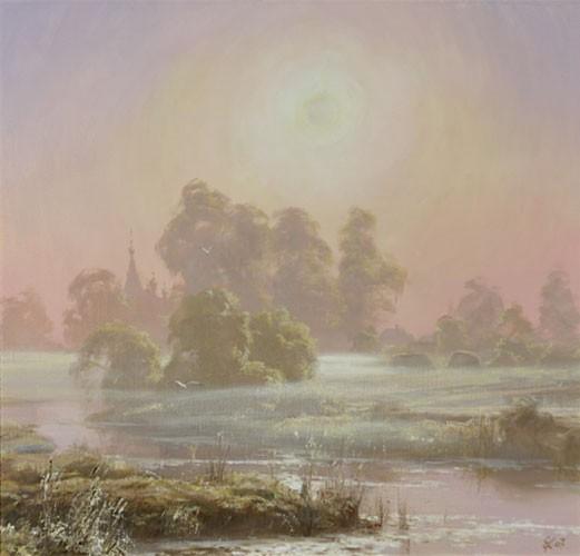 Туман над Тезой. 2007г.