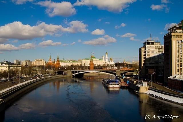 Москва 8го марта 2010 года