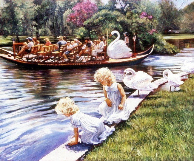 """Swan Boat"""