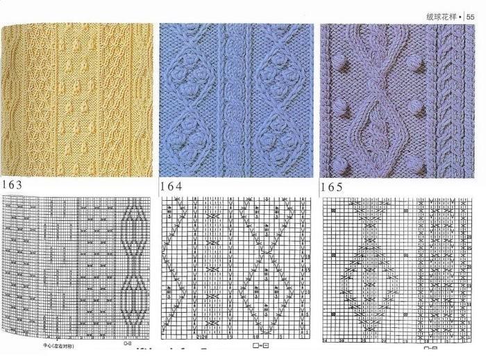узоры для вязания спицами - Узоры.
