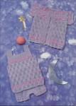 вязанные узоры адидас.  Как вязать цветные узоры спицами.
