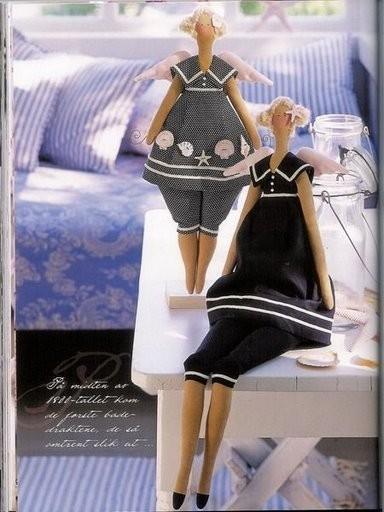 Выкройка куклы тильды - Вязание Для.