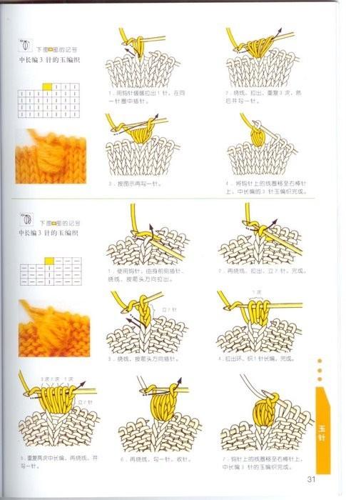 Как читать схемы вязания из японских журналов?
