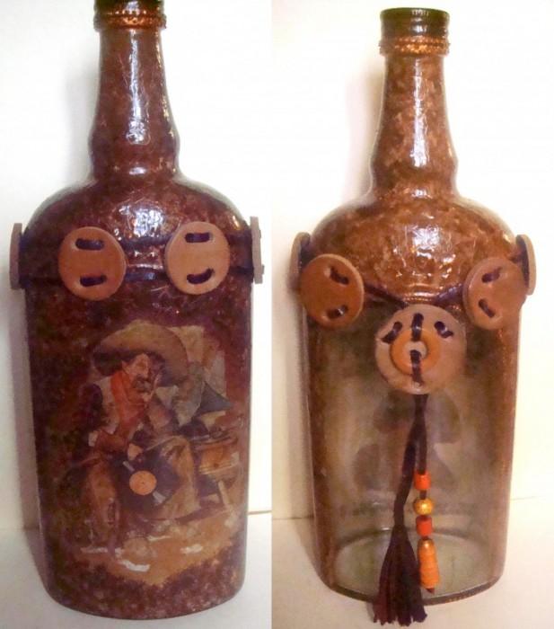 """бутылка """"Старый ковбой"""""""