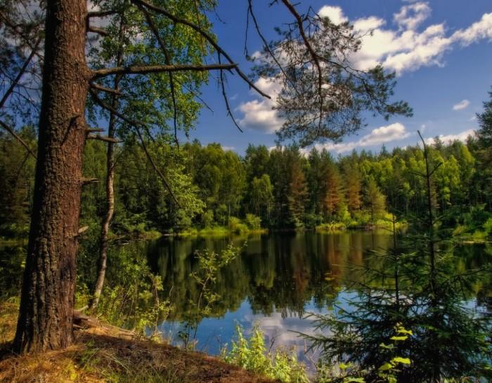 Черное озеро ждет
