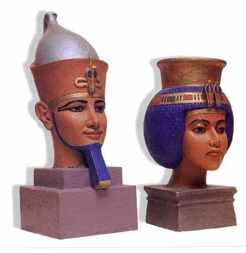 Аменемхет и Тейя скульптура