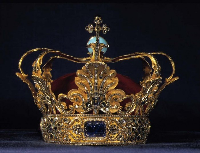 Корона Кристиана Пятого датского