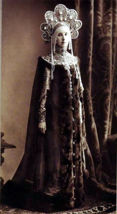 1353668 1903 ball   maria nik. lopukhina Царь Николай II возрождал Россию. Собрание редких фотографий