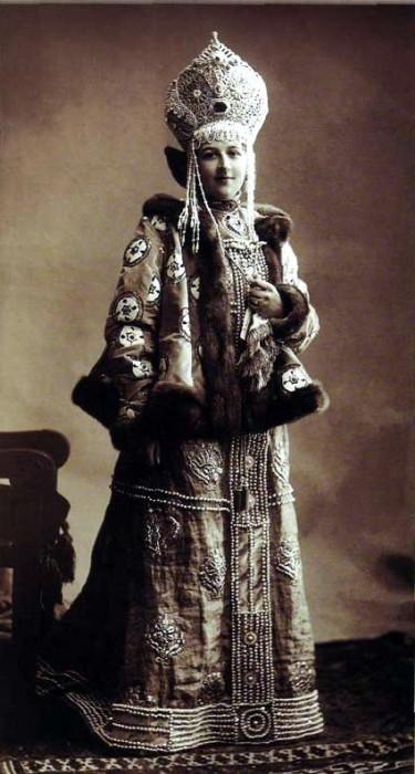 1353676 1903 ball   varvara vas. musina pushkina Царь Николай II возрождал Россию. Собрание редких фотографий