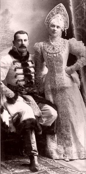 1353728 1903 ball   zinaida and felix yusupovy Царь Николай II возрождал Россию. Собрание редких фотографий