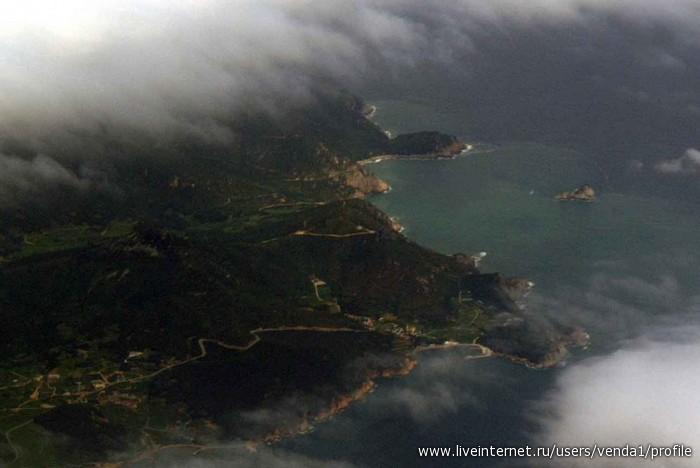 Побережье южной кореи