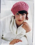 Её фотографии для VOGUE Knitting.