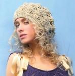 Вязание спицами шапки женские. вязаная шапка спицами.