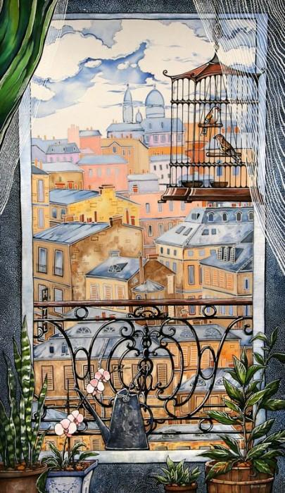 Окно. Париж