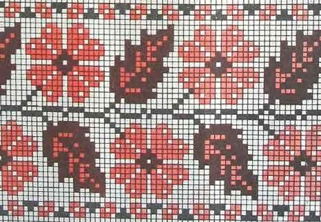 эмблема ниссан схема вышивки