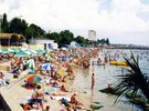 [+] Увеличить -  1-й   городской пляж