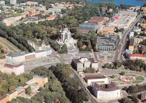 В Калининграде прошел пикет против строительства мечети в городском парке.