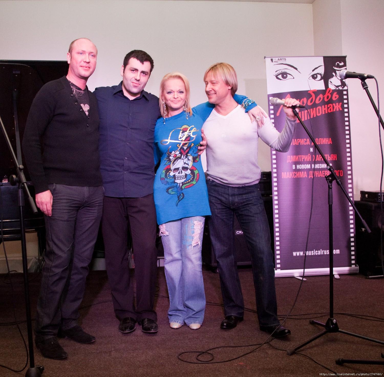 Конференция с участниками мюзикла Любовь и шпионаж. Лариса Долина