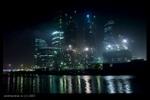 [+] Увеличить - Москва-Сити ночью