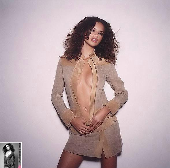 Адриана Лима - сексуальные фото для Cosmopolitan