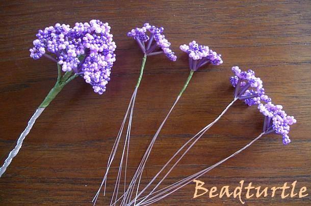 Схемы плетения из бисера - жгуты.  Очень понравились эти цветочки.