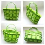 1.     Первый раз в жизни изготовила сумочку - это будет очередной подарок, который я надеюсь понравится.    2.     Вязала сумку по мастер-классу: <a href=
