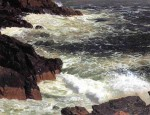 Rough Surf, Mount Desert Island 1850