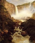 Tequendama Falls, near Bogota, New Granada 1854