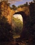 The Natural Bridge, Virginia 1852
