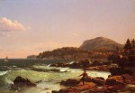 View of Newport Mountain, Mount Desert 1851
