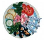 Вязаная еда в виде шарфов и шапок. вязание, вязание крючком серьги схемы.