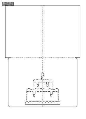 поделки киригами схемы.
