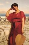 Женщина в классическом платье 1908