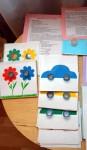 Модули Машины и цветы. Игра на закрепление и изучения цвета.