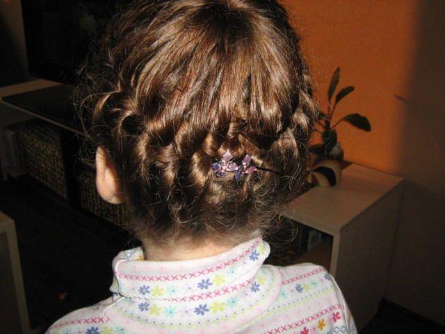 Детские прически для длинных волос