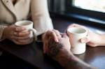 если в одно прекрасное утро я не смогу сделать тебе чашку чая и взять тебя за руку - я умру(