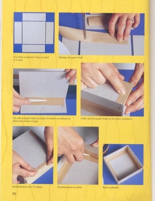 Изготовление подарочных коробок из картона своими руками 14