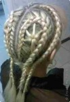 Плетение из волос схемы косички цепь.