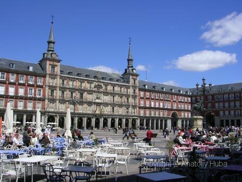 Достопримечательности Мадрида - столицы Испании.