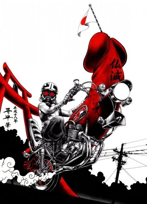 Японский художник Шохей Омото (Shohei Otomo)