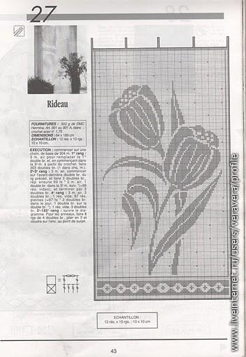 для филейного вязания крючком.  Их также можно использовать для вышивания крестиком.  Прочитать запись целиком. схемы.