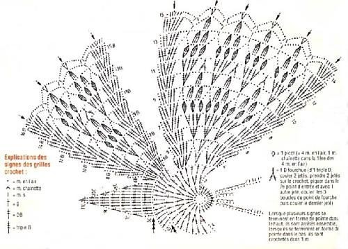 """""""Бабочки летают, бабочки... """".  ВЯЗАНЫЕ БАБОЧКИ со схемами.  И очень красиво и нежно.  Прочитать целикомВ."""