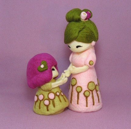 Валяные куколки